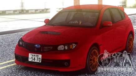 Subaru Impreza WRX STI 2008 Hatchback для GTA San Andreas