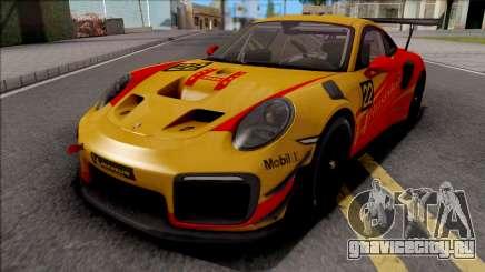 Porsche 911 GT2 RS 2019 Clubsport для GTA San Andreas