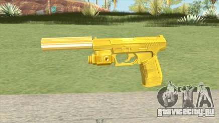 Wolfram P2K Gold Silenced (007 Nightfire) для GTA San Andreas