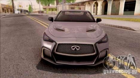 Infiniti Q60 Project Black S 2018 для GTA San Andreas