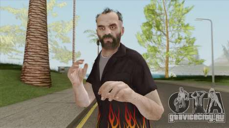 Trevor Phillips Skin From GTA V для GTA San Andreas