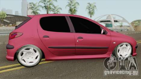 Peugeot 206 V4 для GTA San Andreas