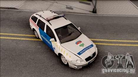 Skoda Octavia Combi 2006 Magyar Rendorseg для GTA San Andreas