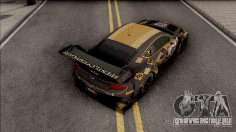 Bentley Continental GT3 2018 для GTA San Andreas