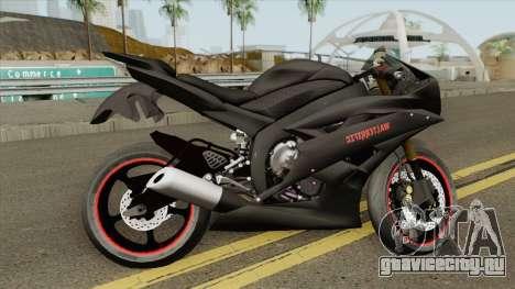 Yamaha R6 Custom 2008 для GTA San Andreas