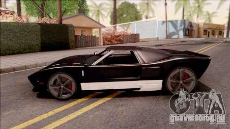 Vapid Bullet Modelo Original IVF для GTA San Andreas