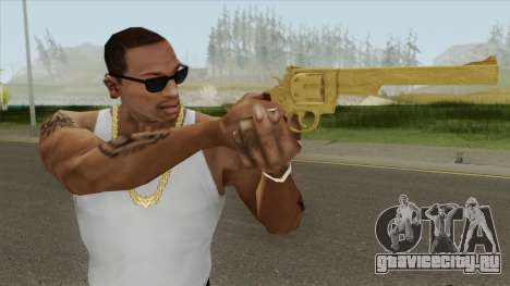 Smith And Wesson M29 Revolver (Gold) для GTA San Andreas