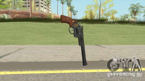 Smith And Wesson M29 Revolver (Black) для GTA San Andreas