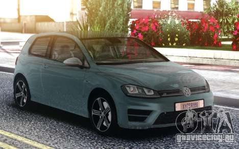 Volkswagen Golf R для GTA San Andreas