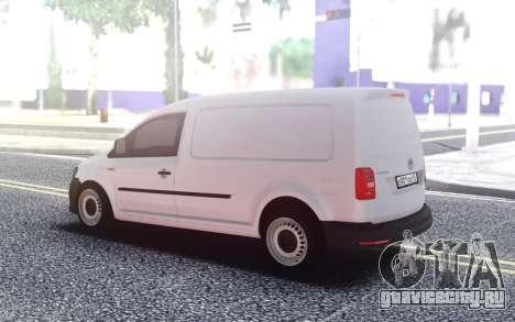 Volkswagen Caddy Maxi 2016 для GTA San Andreas
