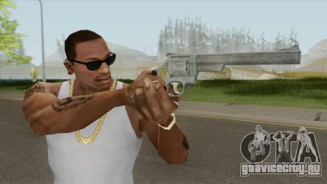 Smith And Wesson M29 Revolver (Chrome) для GTA San Andreas