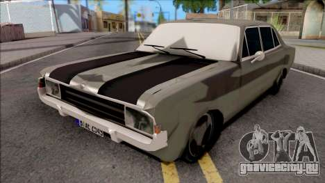 Opel Rekord C Sedan 4 Doors 1968 для GTA San Andreas