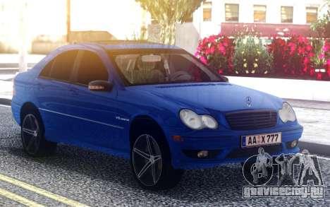 Mercedes-Benz C32 для GTA San Andreas