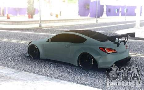 Hyundai Genesis Coupe для GTA San Andreas
