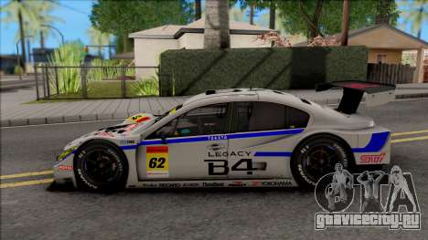 Subaru Legacy B4 GT300 2011 для GTA San Andreas