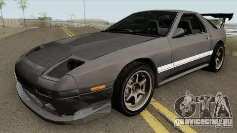 Mazda RX7 FC3S Initial D Fifth Stage Remastered для GTA San Andreas