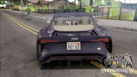 TVR Griffith 2019 для GTA San Andreas