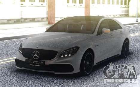 Mercedes-Benz CLS 63 AMG седан 2019 года для GTA San Andreas