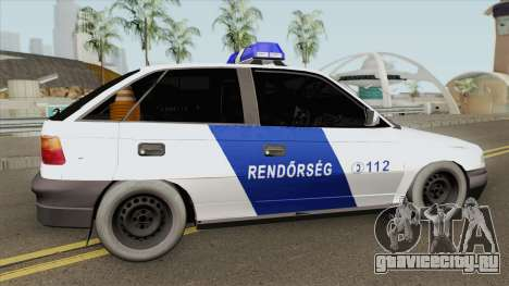 Opel F Astra Classic (Hungarian Police) V1 для GTA San Andreas