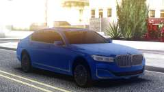 BMW 750Li Blue Original для GTA San Andreas