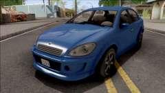 GTA V Declasse Premier для GTA San Andreas