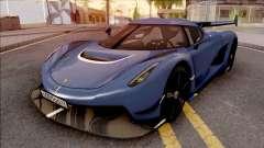 Koenigsegg Jesko 2020 для GTA San Andreas