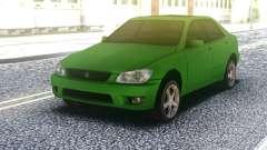 Lexus IS300 Green для GTA San Andreas
