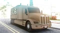 Peterbilt 579 Army Truck LQ для GTA San Andreas