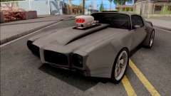 Pontiac Firebird 1970 Grey для GTA San Andreas
