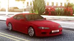 Nissan Silvia S15 Red Original для GTA San Andreas