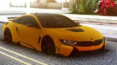 BMW I8 Yellow для GTA San Andreas