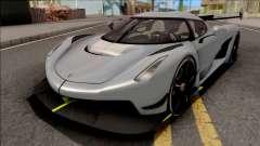 Koenigsegg Jesko 2020 Grey для GTA San Andreas