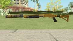 Shrewsbury Pump Shotgun (Luxury Finish) GTA V V3 для GTA San Andreas