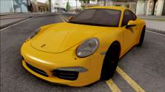 Porsche 911 Carrera S Yellow для GTA San Andreas