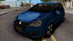 Volkswagen Golf GTI Blue для GTA San Andreas
