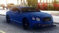 Bentley Continental Sport Blue для GTA San Andreas