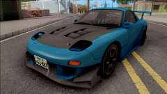 Mazda Efini RX-7 FD3s Initial D Fifth Stage  для GTA San Andreas