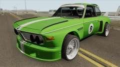 BMW 3.0 CSL 1975 (Green) для GTA San Andreas