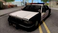 Сhevrolet Caprice 1992 Police LVPD SA Style для GTA San Andreas