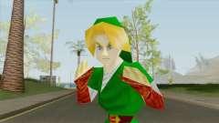Adult Link (Legend Of Zelda Ocarina Of Time) V2 для GTA San Andreas