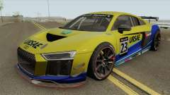 Audi R8 LMS GT4 2018 для GTA San Andreas
