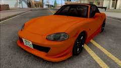 Mazda MX-5 Miata NB8c Initial D Fifth Stage для GTA San Andreas