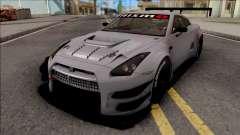 Nissan GT-R Nismo GT3 2014 Paint Job Preset 1 для GTA San Andreas