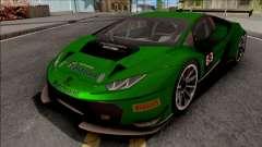 Lamborghini Huracan GT3 2015 Paint Job Preset 1 для GTA San Andreas