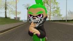 Inkling Boy Green V1 (Splatoon) для GTA San Andreas