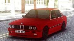 BMW E30 Red Sedan для GTA San Andreas