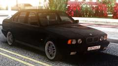 BMW E34 525 Classic Black Edition для GTA San Andreas