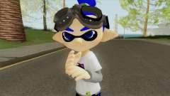 Inkling Boy Blue (Splatoon) для GTA San Andreas