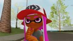 Inkling Girl Pink V1 (Splatoon) для GTA San Andreas