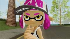 Inkling Girl Pink V2 (Splatoon) для GTA San Andreas